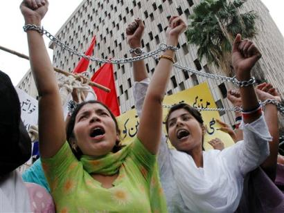Women Rights in Pakistan (AP/Shakil Adil)