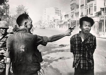 Vietnam War (Eddie Adams, USA)