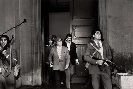 Assasination of Salvador Allende, Chili (Unknown photographer)