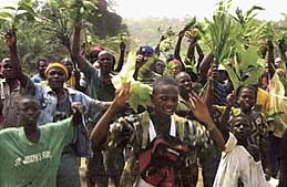 Young Liberian Rebel Fighters