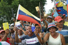 Venezuelan Farmers Want Englishmen Out