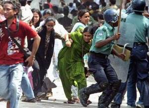 Police Excesses Protested in Dhaka, Bangladesh (Reuters/Rafiqur Rahman)