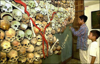 Khmer Rouge Regime and Genocide in Cambodia (AFP/Philippe Lopez)