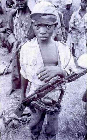 Child Soldiers of LRA in Northern Uganda.